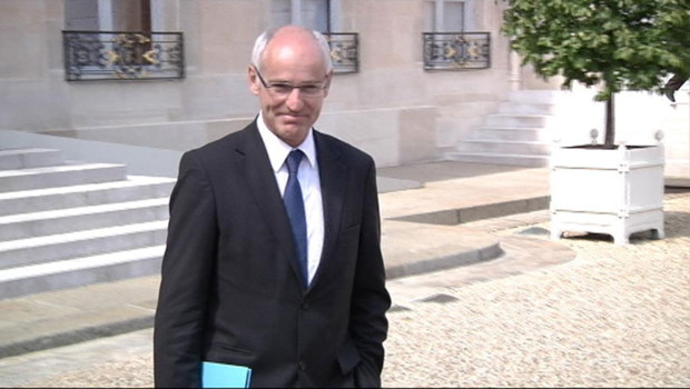Thierry Repentin lors de son premier Conseil des ministres