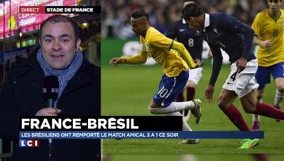 """France-Brésil (1-3) : """"La France plus juste techniquement que le Brésil"""""""