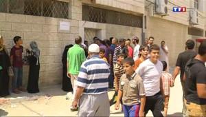 Le 20 heures du 22 juillet 2014 : Blocus �aza : les habitants sont pris en otages - 836.812