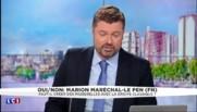 """Marion Maréchal-Le Pen : """"Florian Philippot n'est pas un ami, mais un partenaire politique"""""""