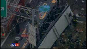13 morts dans un accident d'autocar à New York