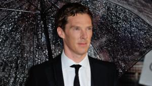 Benedict Cumberbatch à Londres pour la première de The Imitation Game en octobre 2014