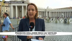 François Hollande au Vatican pour séduire l'électorat catholique