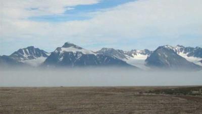 glacier pôle