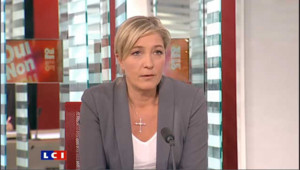 """Marine Le Pen : """"le droit de grève oui, le droit de bloquer non !"""""""