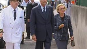 TF1/LCI Chirac dans le Var hommage aux pompiers