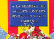 TF1/LCI Plaque à la mémoire des pompiers du Var décédés