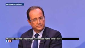 François Hollande détaille ses premières mesures de président