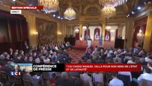 """Hollande sur le livre de Trierweiler : """"Je me suis déjà exprimé sur cette question"""""""