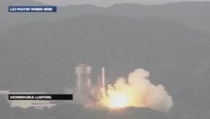 Lancement de la fusée Epsilon au Japon