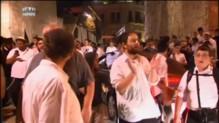 Manifestations d'extrémistes israéliens après l'attaque à Jérusalem
