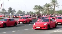 Police Porshe Qatar