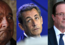 Présidents Jacques Chirac françois Hollande nicolas Sarkozy