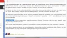 """Enfant au commissariat pour """"apologie du terrorisme"""" : l'attitude du père mise en cause"""