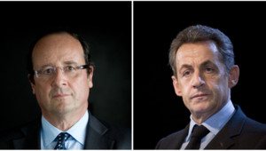 François Hollande et Nicolas Sarkozy (montage - mai 2012)