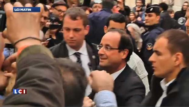 Hollande va devoir penser à sa sécurité en tant que président