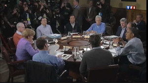 La crise de la zone euro au programme du sommet du G8