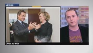 Nicolas Sarkozy et Hilary Clinton