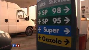 pompes à essence carburant stations-service