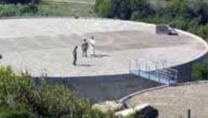 chateau eau potable Istres DR: AFP
