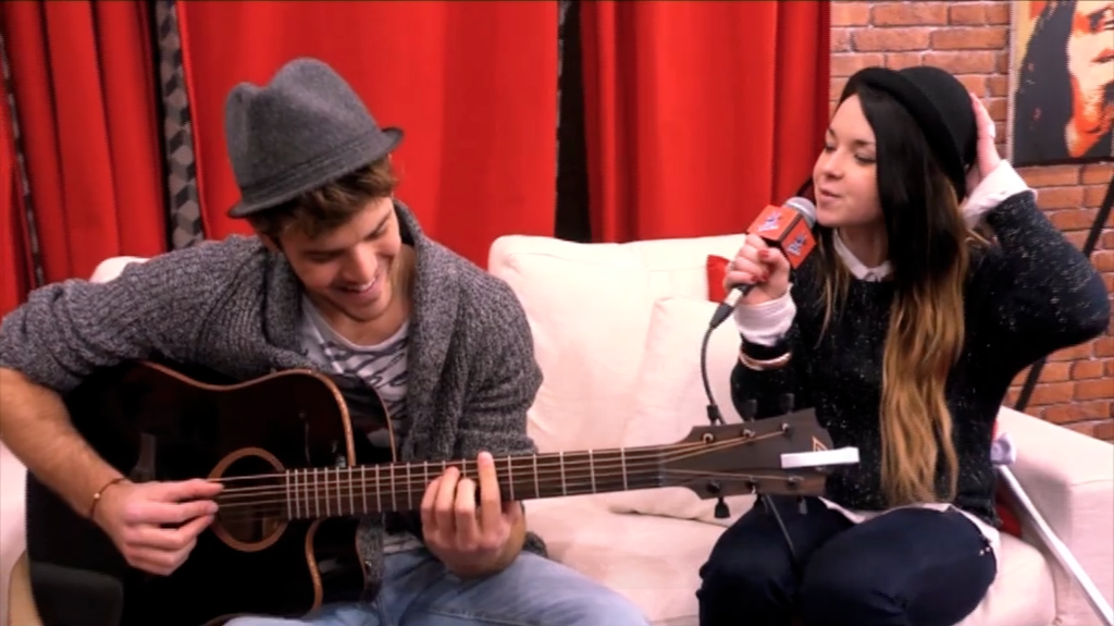 The Voice 2 : la plus belle voix - Concert privé : Florent Torres et Fanny Melili chantent Ray Charles