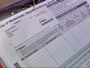 Le 13 heures du 24 mai 2014 : Au Royaume-Uni, l'inscription sur les listes �ctorales est obligatoire - 383.4086943206787