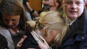 Le Dr Muller retrouve ses proches après son acquittement