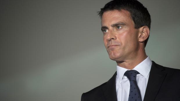 Manuel Valls en visite à Meaux le 12 septembre 2014.