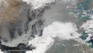 Nasa Chine airpocalypse satellite
