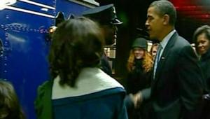 Obama train Philadelphie