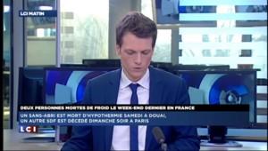 Paris : un sans-abris décédé dimanche soir