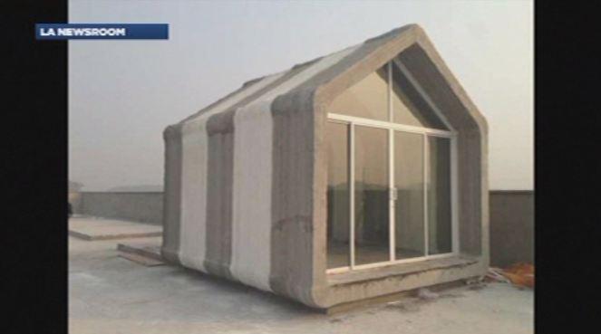 Une imprimante 3d g ante pour construire une maison lci for Imprimante 3d geante maison