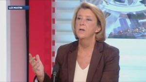 Arlette Chabot sur le plateau de LCI.