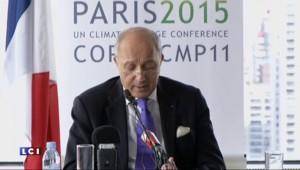 """Conflit syrien : la solution passe par """"une transition politique"""", affirme Fabius"""