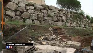 Intempéries dans l'Hérault : autoroute coupée et gros dégâts à Lodève