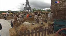 Le 13 heures du 24 mai 2014 : La ferme s'installe �a Tour Eiffel - 455.3391364135742