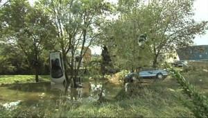 """Le 20 heures du 7 octobre 2014 : Inondations dans l%u2019H�ult : """"Il ne reste plus rien"""" �rabels - 235.2842479324341"""