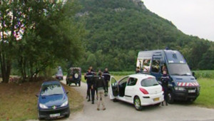 Le lieu de l'accident où s'est écrasé un hélicoptère, sur le mont Cordon.
