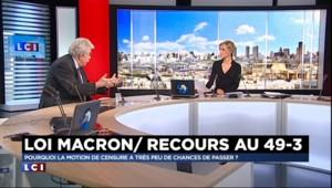 """Loi Macron : le PCF n'a """"pas la possibilité de réunir les signatures"""" pour déposer sa motion de censure"""