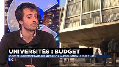 """Mobilisation des universités : l'UNEF réclame """"plus de moyens"""""""