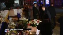 Devant le Bataclan, le Premier ministre japonais rend hommage aux victimes des attentats