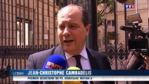 Le 20 heures du 22 mai 2015 : PS : Cambadélis l'emporte, les frondeurs affaiblis - 1180