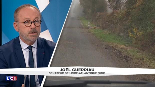 """Notre-Dame-des-Landes : Joël Guerriau juge la consultation """"ahurissante"""" et souhaite le début des travaux au plus vite"""