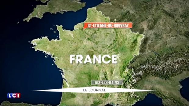 Prêtre assassiné en Normandie : le second terroriste identifié, trois personnes en garde à vue