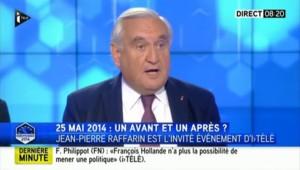 """Raffarin veut une """"initiative commune"""" UMP-UDI"""