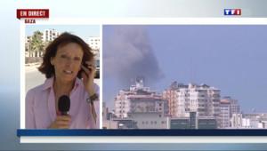 Le 13 heures du 8 août 2014 : DIRECT GAZA ALLEMONIERE - 596.54
