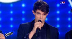"""Le 20 heures du 26 avril 2015 : """"The Voice"""" : le jeune Franc-Comtois Lilian vainqueur, retour sur sa soirée - 2164.06"""