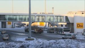 Neige à l'aéroport de Roissy (19/12/2010)