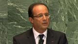 Hollande exhorte l'ONU à agir pour la Syrie et le Mali