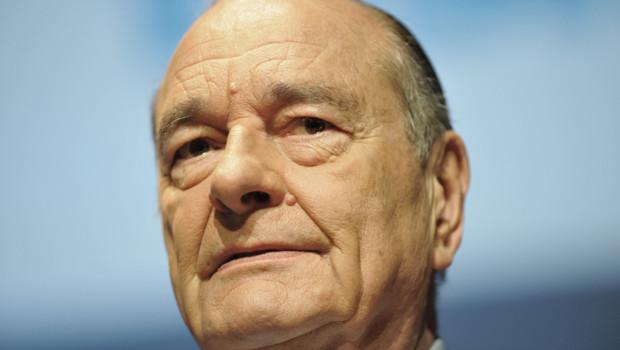 Jacques Chirac, janvier 2011.